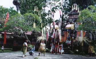traditional Barong dance